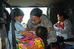U.S. troops help flood victims in Central America