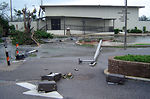Hurricane Katrina hits Keesler AFB