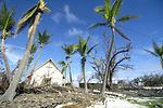 Teams fly to Wake Island to assess damage