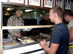 Deployed Airmen dish up a helping of gratitude