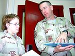 Sergeant keeps human relations in combat zone peaceful