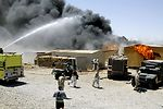 Fire fight in Iraq for the Army