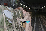 Airmen deliver first relief supplies to Pakistan