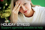 Support agencies help Airmen, families manage holiday stress
