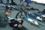 Medics 'exercise' their skills