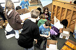 Elemendorf children lend helping hand