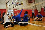 Warrior Games AF Volleyball Practice