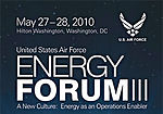 Registration open for 2010 Air Force Energy Forum III