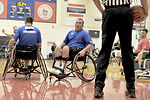 Warrior Games basketball competition