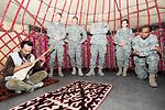 Airmen learn traditions during Kyrgyz Cultural Day