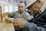 Joint Enlisted Council lift spirits at veterans home
