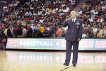 Nellis Airmen honored at USA Basketball exhibition