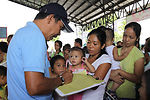 Multinational medical assistance aids Filipino community