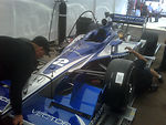 Air Force-Themed Indy Car