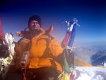 Airman scales Mount Everest