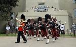 British band performs in Pentagon courtyard