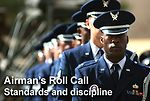 Airman's Roll Call notes importance of standards, discipline