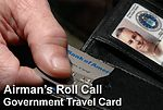 Airman's Roll Call: Government travel card a benefit