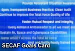 Air Force message fueled with goals card
