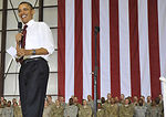 Obama makes surprise visit to Bagram Airfield