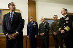 President Obama thanks troops, pledges support