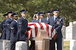 Military pays tribute to World War II bomber pilot