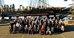 'Old Ironsides' USS Constitution host Medal of Honor recepients