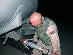 POL Airmen help turn C-130 into flying gas station