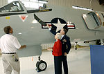 General Jumper visits Pacific Coast Air Museum