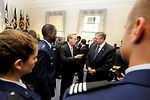 SECAF at Yale ROTC detachment