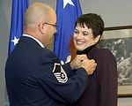 Air Force honors spouses with pin