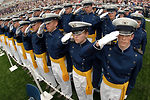 Rumsfeld voices confidence in academy graduating class