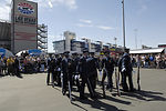 Drill Team performs at Busch Series Race