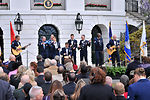 Band plays at White House