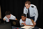 Young cyber-warriors display teamwork