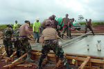 Civil engineers assist in humanitarian mission