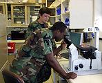 Future of Air Force Medical Service train at Wilford Hall