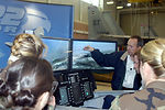 Sheppard Airmen check out Raptor simulator