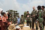 Yokota Airmen deliver school supplies to Indonesian school