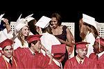 First lady awards diplomas