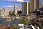 Circular Quay with ferry boats, Sydney, Australia.