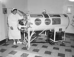This 1960 historic photograph depicted a nurse car