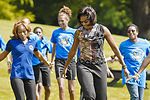 First lady invites children of Guard, Reserve to fitness event