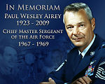 Air Force Mourns the Loss of First Chief Master Sergeant of the Air Force
