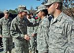 Chief of staff visits Hurlburt Field Airmen