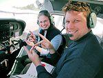 Airman teaches deaf man to fly
