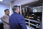 Secretary Donley visits the CAOC