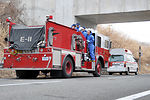 Yokota extends help to firefighters in Fukushima