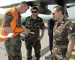 Airman helps people arrive, depart Kosovo