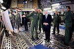 Secretary of Defense Robert M. Gates visit to McChord